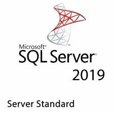 SQL SERVER 2019 STANDARD + 10 CAL ESD KEY MULTILANGUAGE FATTURA