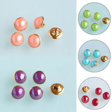 20PCS Decorative Round Metal Bottom Pearl Sewing Accessories Buttons Garment
