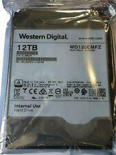 """Western Digital 12TB 3.5"""" SATA 6GB/s 5400RPM 256MB WD120EMFZ  NEW hard drive"""