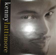 Kenny Lattimore 1996 Columbia promotional poster, 24x24, Ex, R&B