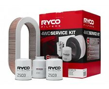 RYCO Oil Air Fuel Filter Service Kits NISSAN Patrol TD42 NA up to 2003