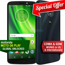 A+ MINT Motorola Moto G6 Play 32GB 4G-LTE Unlocked Verizon Sprint T-Mobile AT&T