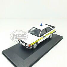 1/43COCHE CAR POLICE FORD ESCORT MKIII XR3i RHD DURHA CORGI VANGUARDS