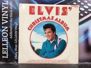 Elvis Presley Elvis' Christmas Album LP Vinyl Record CDS1155 Rock N Roll 70's