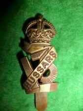 The 13th Hussars KC Cap Badge, KK 771, British Cavalry WW1