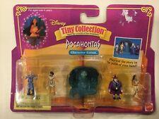 Disney Tiny Collection Pocahontas NEW 1996 John Smith Gov. Radcliffe