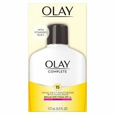 OLAY COMPLETE 6-OZ (177mL) UV365 DAILY MOISTURIZER WITH SPF15 NORMAL EXP 03/21 +