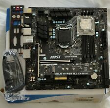 MSI Z170A MORTAR + Intel i5 6600K + NVME SSD ADAPTER