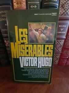 Les Miserables by Victor Hugo Abridged Vintage Paperback Book