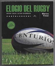 libro usato elogio del rugby sport degli ultimi guerrieri