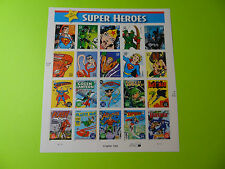 Stamps US * Sc 4084 DC COMICS SUPERHEROES * 2006 * Sheet of 20 * Mint * 39c