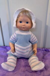 Vintage My Baby Beth Baby Doll Fisher price toys 1977 outfit clothing sweater