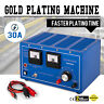 Platinum Silver Gold Plating Machine Jewelry Plater Electroplating w/ Rectifier