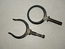 VINTAGE ROW BOAT - DINGHY - STEEL OAR LOCKS