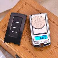 Mini Electronic Digital Scale Weight Balance LCD Jewelry Pocket Gram Weigh Scale