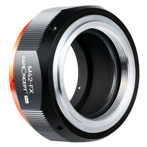 K&F Concept Lens Adapter M42 - Fuji X Mount Pro Adapter M42 Lens to Fuji X