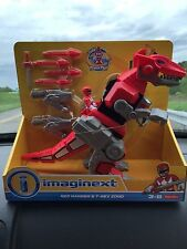 Fisher-Price Power Rangers Imaginext Mighty Morphin Red Ranger & T-Rex Zord toy