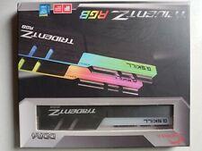 G. SKILL Trident Z RGB 2x8GB DDR4-3000 CL15 (F4-3000C15D-16GTZR) Memory RAM