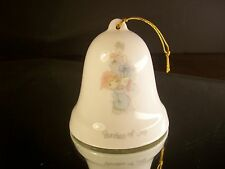 Rare Precious Moments Bundles Of Joy 1985 Bell Ornament