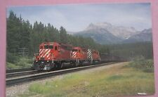 CP Rail Train 605 Coal Train SD40-2 Units 5859, 5832 & 5985 Train Postcard