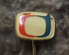Ceska Televize CT Czech State Television TV Broadcasting Company Pin Badge