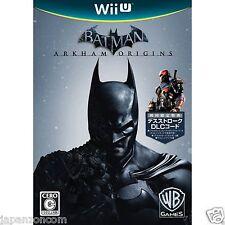 Batman: Arkham Origins NINTENDO WII U JAPANESE NEW JAPANZON