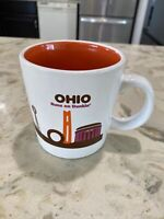 2013 Dunkin' Donuts State Mug - OHIO Runs on Dunkin' - R&R Hall of Fame - EXC