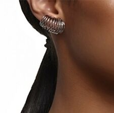 Mimco ❤️ New Interlude Ear Cuff  Silver Earrings $59 + Dust Bag