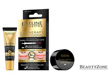 EVELINE COSMETICS TREATMENT ENLARGING LIPS 2in1 LIP SCRUB +HYALURONIC LIP FILLER
