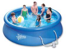 QUICK Up Pool rund 366 x 75 cm Schwimmbad mit Kartuschenfilter Swimmingpool