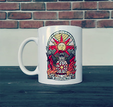 Praise The Sun Coffee Mug Tea Cup Gift For Gamer Dark Souls Fan
