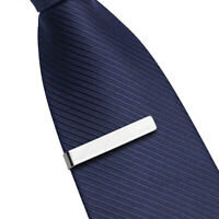 1PC Men Tie Clip Classic Simple Style Male Business Necktie Steel Stainless  CR