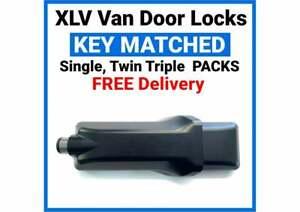 Milenco XLV Van Door Lock High Security Mul T Lock - Single Twin Triple Packs