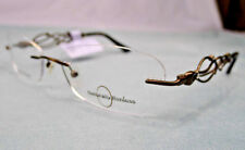 Naturally Rimless NR 348 Eyeglass Frames Women's Glasses RX-able Retail $96 KE