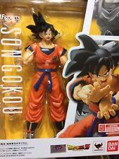 AUTHENTIC! Bandai SH.Figuarts Dragon Ball Z SUPER SON GOKU GOKOU RAISED ON EARTH