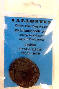 Carbontex Carbon Fiber Drag Washers - DAIWA SEALINE SL20SH SL30SH SG30H SG20SH