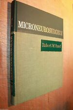 MICRONEUROSURGERY ROBERT W RAND VG/NF FIRST EDITION