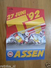 1992 FLYER DUTCH TT ASSEN 1992 GRAND PRIX,MOTO GP