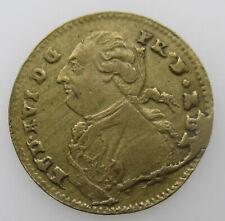France jeton Louis XVI Rechenpfennig 1792
