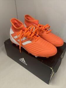 Adidas Predator 19.3 FG W, US Size 5, Unisex,G25819,Hi-res Coral/White/Glow Pink