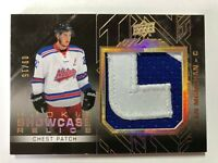 2015-16 UD Black Sean Monahan Rookie Showcase Relics /15