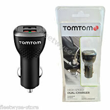Genuine TomTom High-Speed Dual Charger 9UUC00122