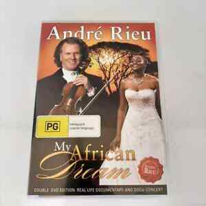 Andre Rieu My African Dream (DVD, 2010, 2-Disc Set) Region Free