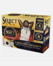 2020-2021 Panini Select NBA Mega Box New Factory Sealed