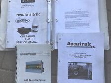Raven Invicta 210 310 Service Operation Manual Accutrak Ax4 Ax5 Monitor Manuals