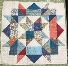Martha Stewart Artisan Quilt collection Euro pillow-sham Multi Starburst