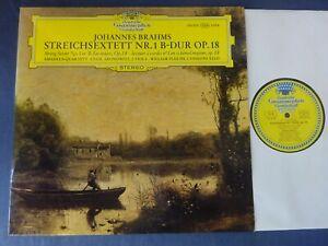 TULIPS NM BRAHMS - STRING SEXTET NO 1 LP, Amadeus Quartet, Pleeth, DG 139 353
