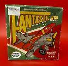 Retro/Vintage Tin Plate Fantastic & Co Wind Up Bi Plane Fighter - boxed - (NCF)