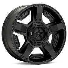 4 18 inch XD811 18x9 Black Rims Nitto G2 Tires Jeep Wrangler JK 2007-2017