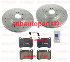 Mercedes W203 C230 Sedan 04-05 BOSCH Ceramic Front Brake KIT with Sport Package